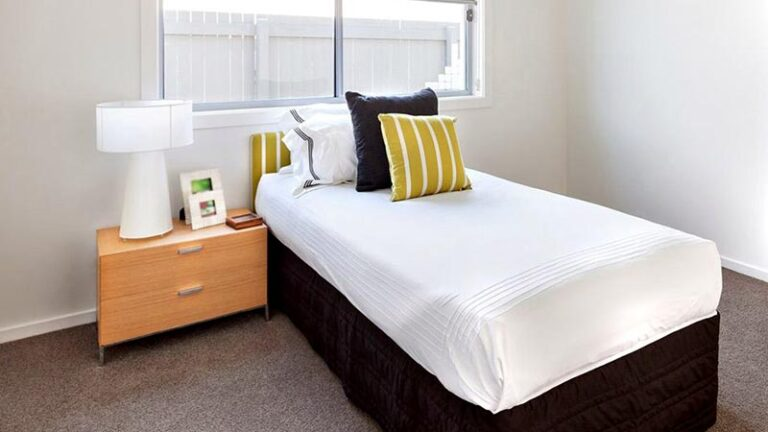 Bedroom in supported living home